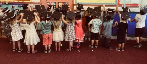 Phoenix under 5's Graduation 2018 school leavers